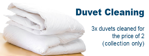 Duvet Cleaning 3 for the price of 2