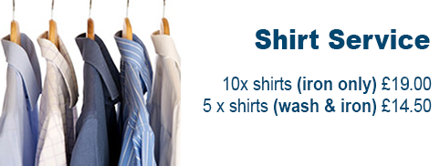 Shirt Laundry Service Offers - Brighton Hove
